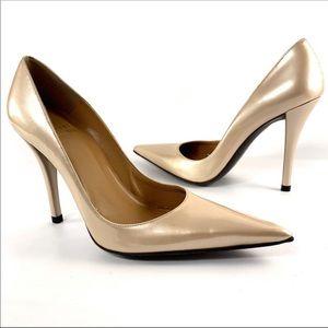 Stuart Weitzman Quasar patent leather heels